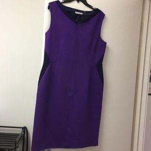 TAHARI dress with lining